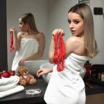 teen webcam model used panties