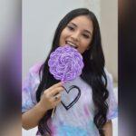 cute Latina teen cam girl licking lollipop